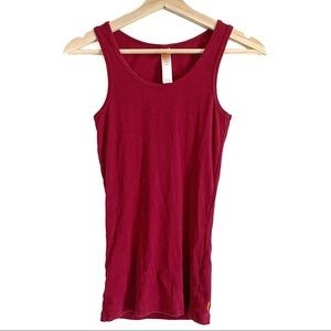 Lucy Red Athletic Tank Top